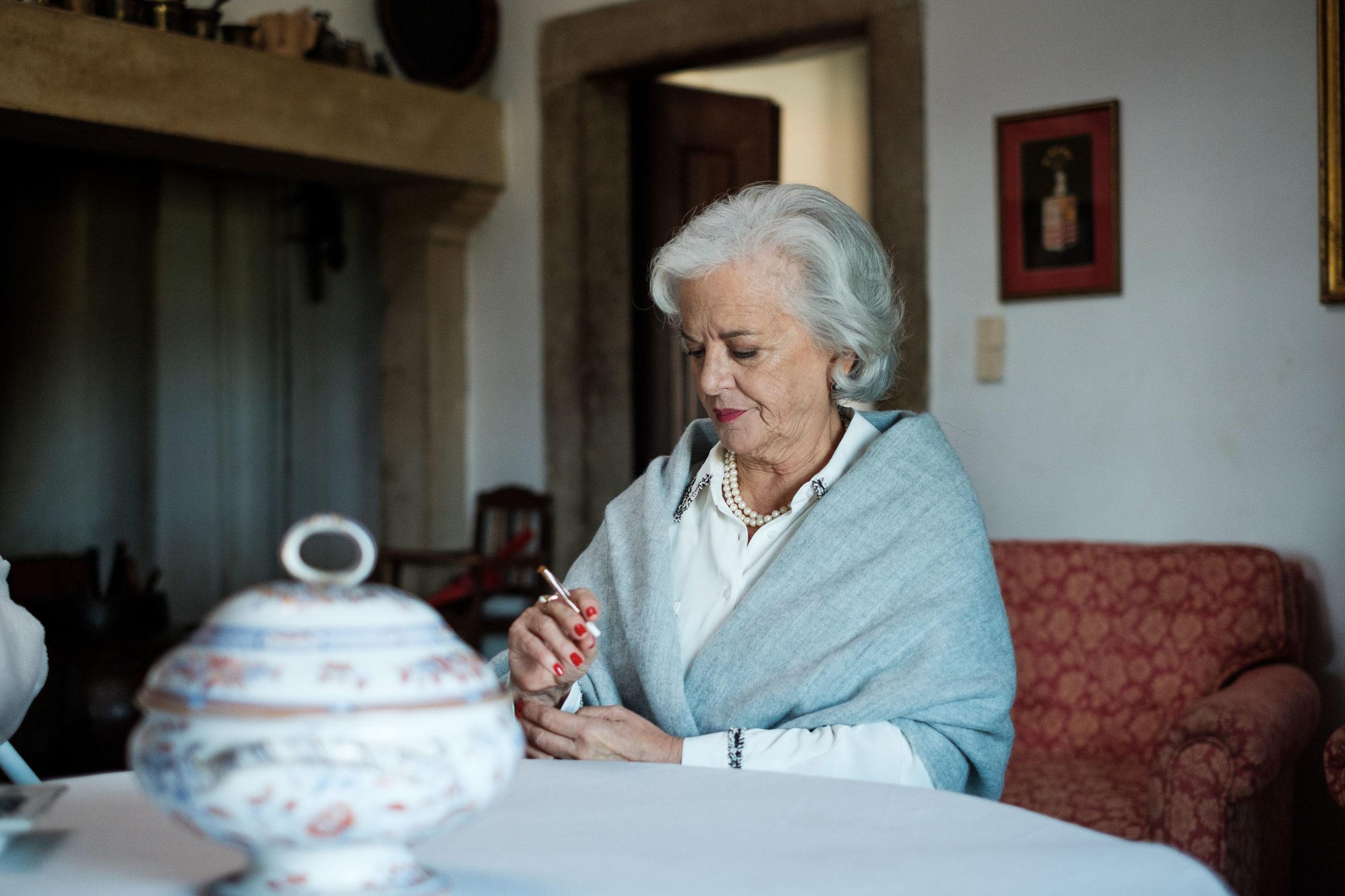 Lídia Franco no filme Para Além da Memória