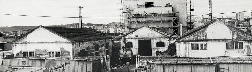 Imagem antiga da reconstrução da Malaposta